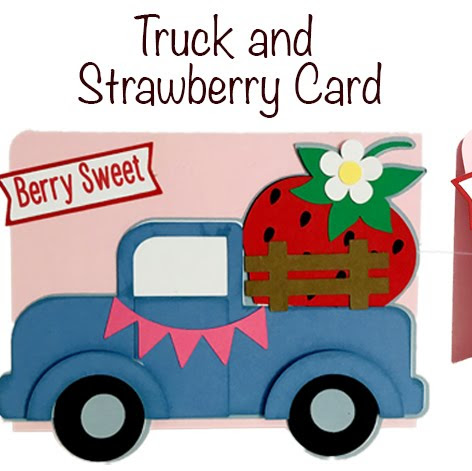 Truck and Strawberry Card