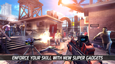 Tampilan Game Unkilled Multiplayer Zombie Survival Shooter Game