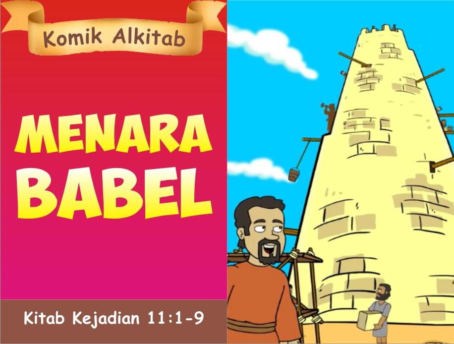 Komik Alkitab Anak Menara Babel
