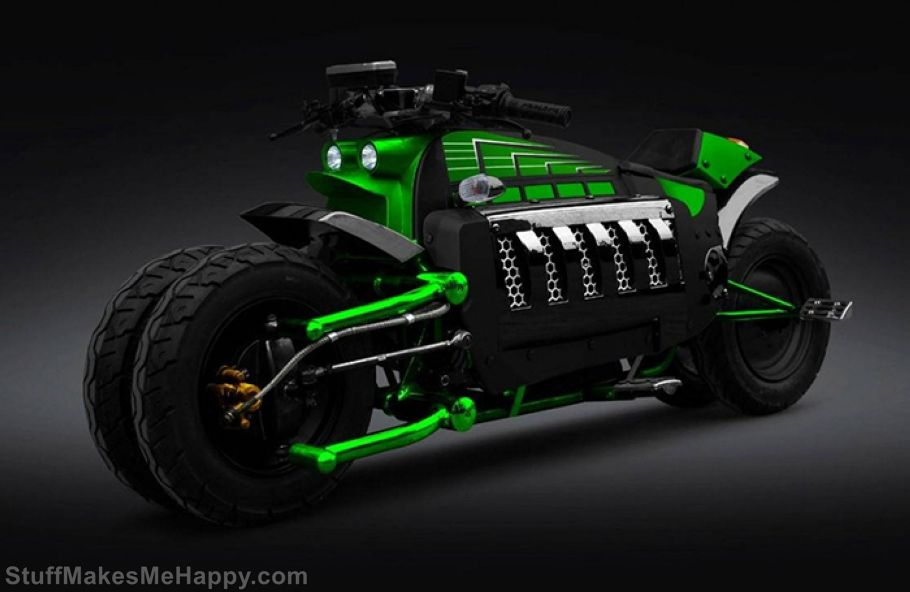 7. Super Motorcycle Dodge Tomahawk V10. Cost is 550,000 USD