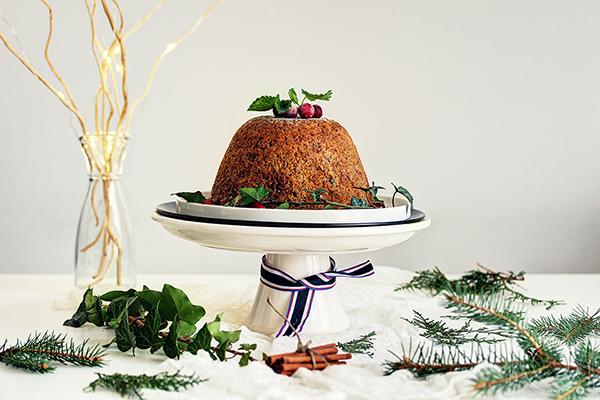 JA U KUHINJI...: Božićni puding / Christmas pudding  Flambiranje