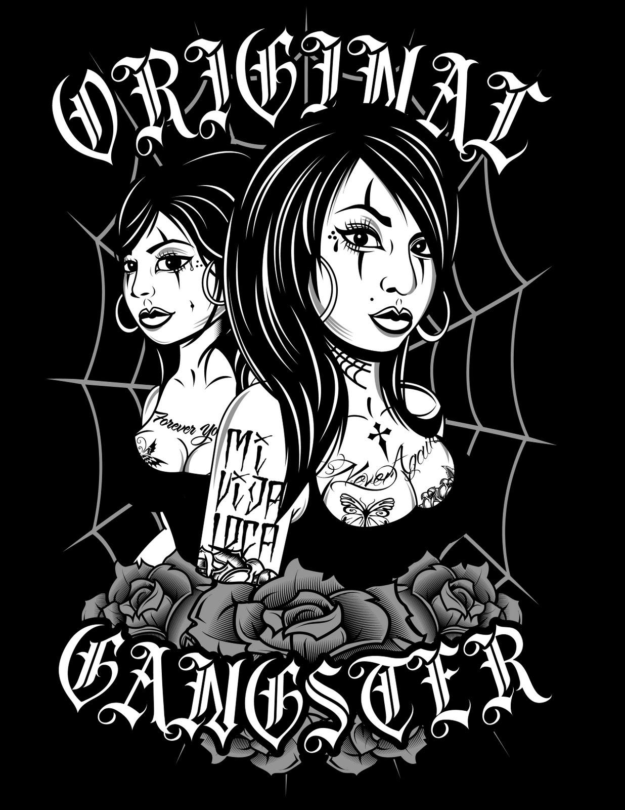 WESTKOAST GRAPHICS: NEW T-SHIRT FOR ORIGINAL GANGSTER APPARELGangsta Artwork