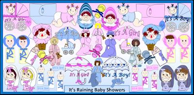 It's Raining Baby Showers