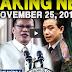 Breaking News Today -  November 25 2017 DOJ Sec Aguirre | Noynoy Aquino | Trillanes | President Duterte