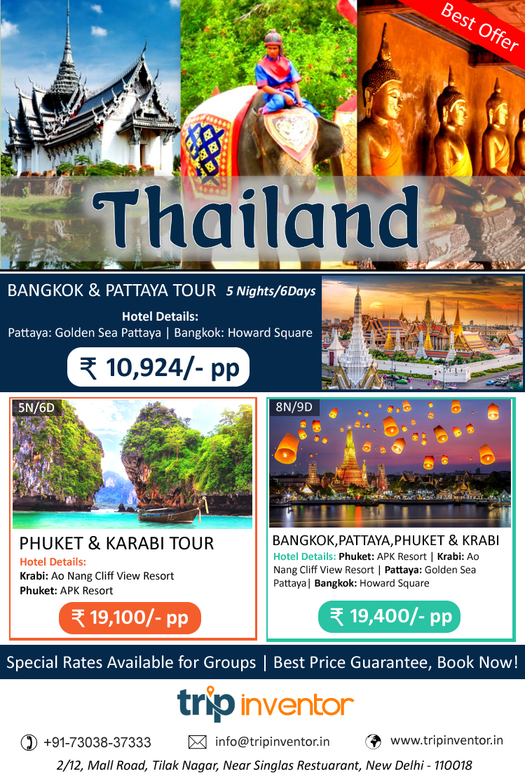 Top Amazing Packages to Visit in Exotic Thailand | Trip Inventor