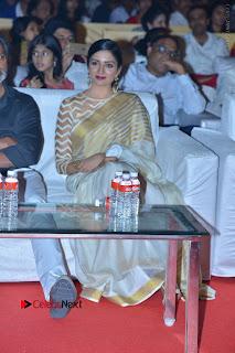 Actress Vimala Raman Stills in White Silk Saree at Om Namo Venkatesaya Audio Launch Event  0002.JPG