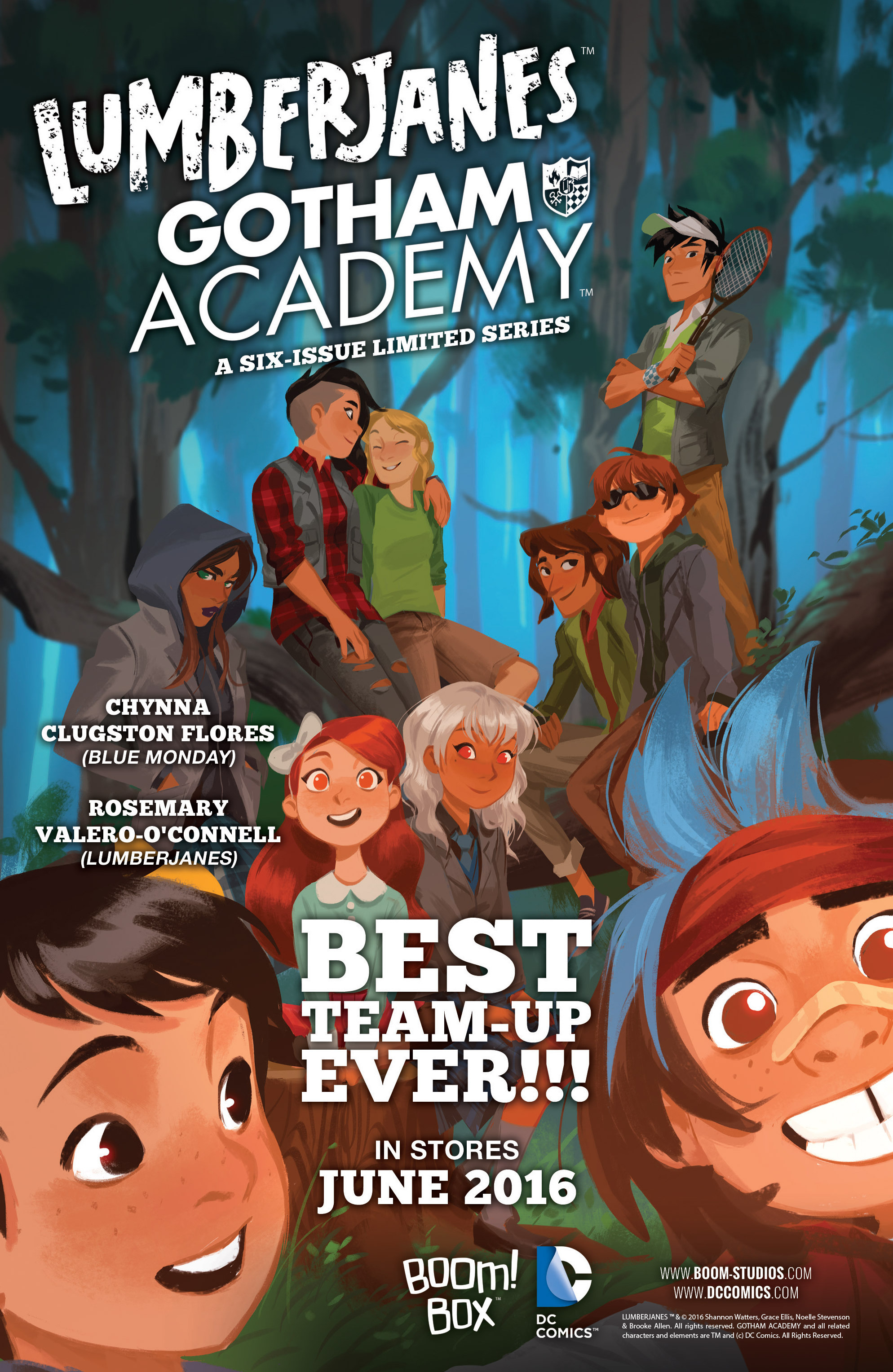 Read online Lumberjanes: Makin' the Ghost of It 2016 Special comic -  Issue # Full - 43