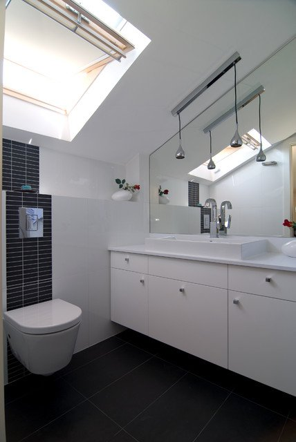 Make the most of small bathroom attic dining room ideas for Small attic bathroom designs