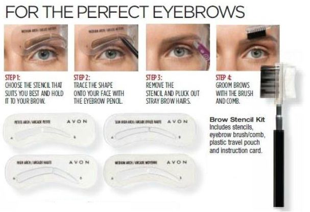 Avon Canada - Montreal.: How to make perfect Eyebrows?