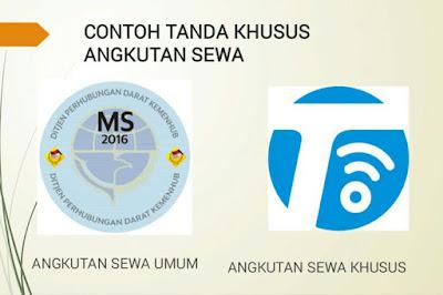 Stiker Khusus Taksi Online