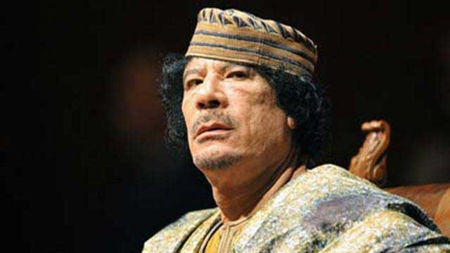 Muammar Khadafi