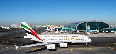 مطار دبي الدولى