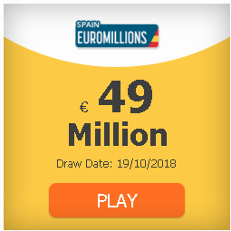#EuroMillions 49 million and rain of millions: odds, clubs