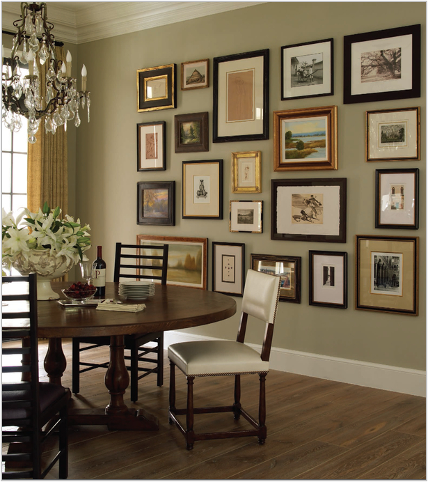 Dining Room Wall Ideas: Key Interiors By Shinay: English Country Dining Room