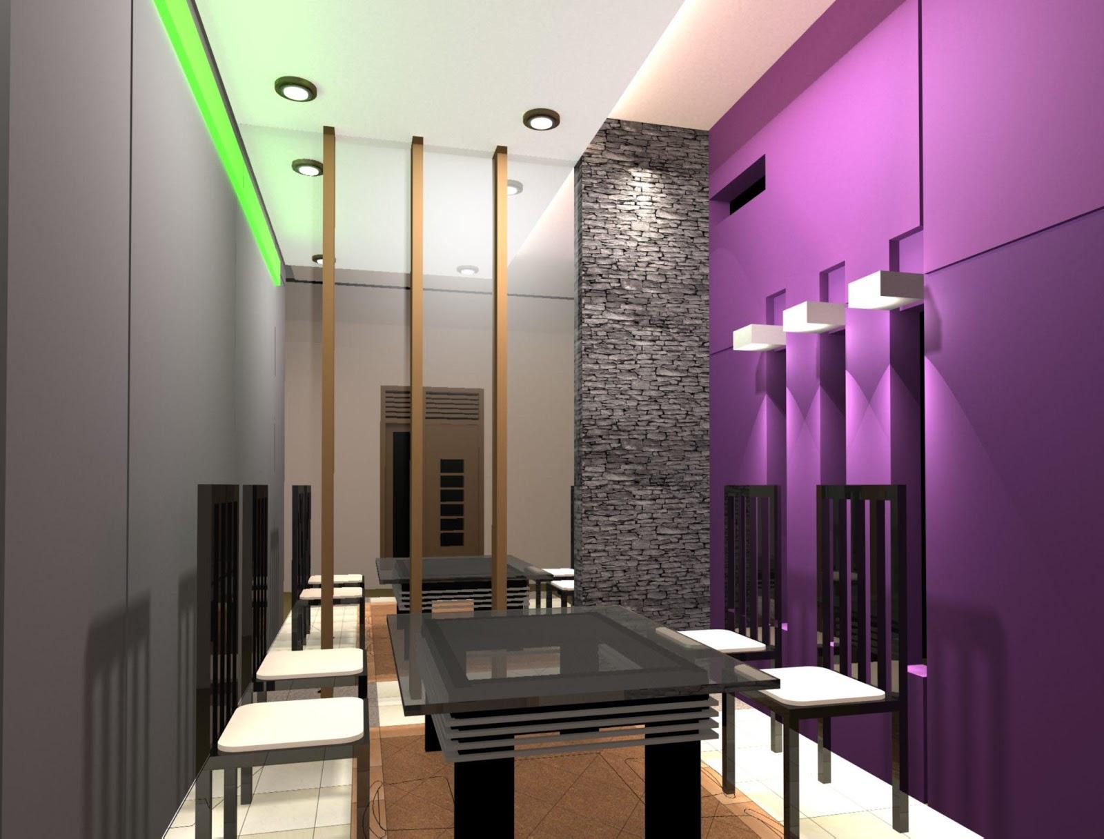 Ruang Makan Gambar  Dapur Minimalis  Ruang Sempit Denah
