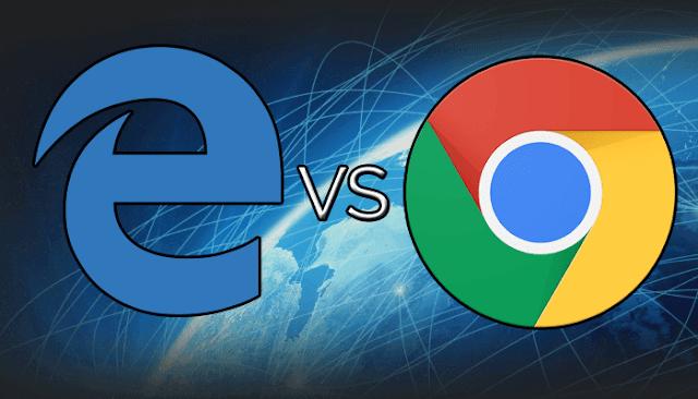 إليك 10 مقارنات بين متصفح غوغل كروم ضد متصفح ميكروسوفت إيدج ، من سيفوز !!
