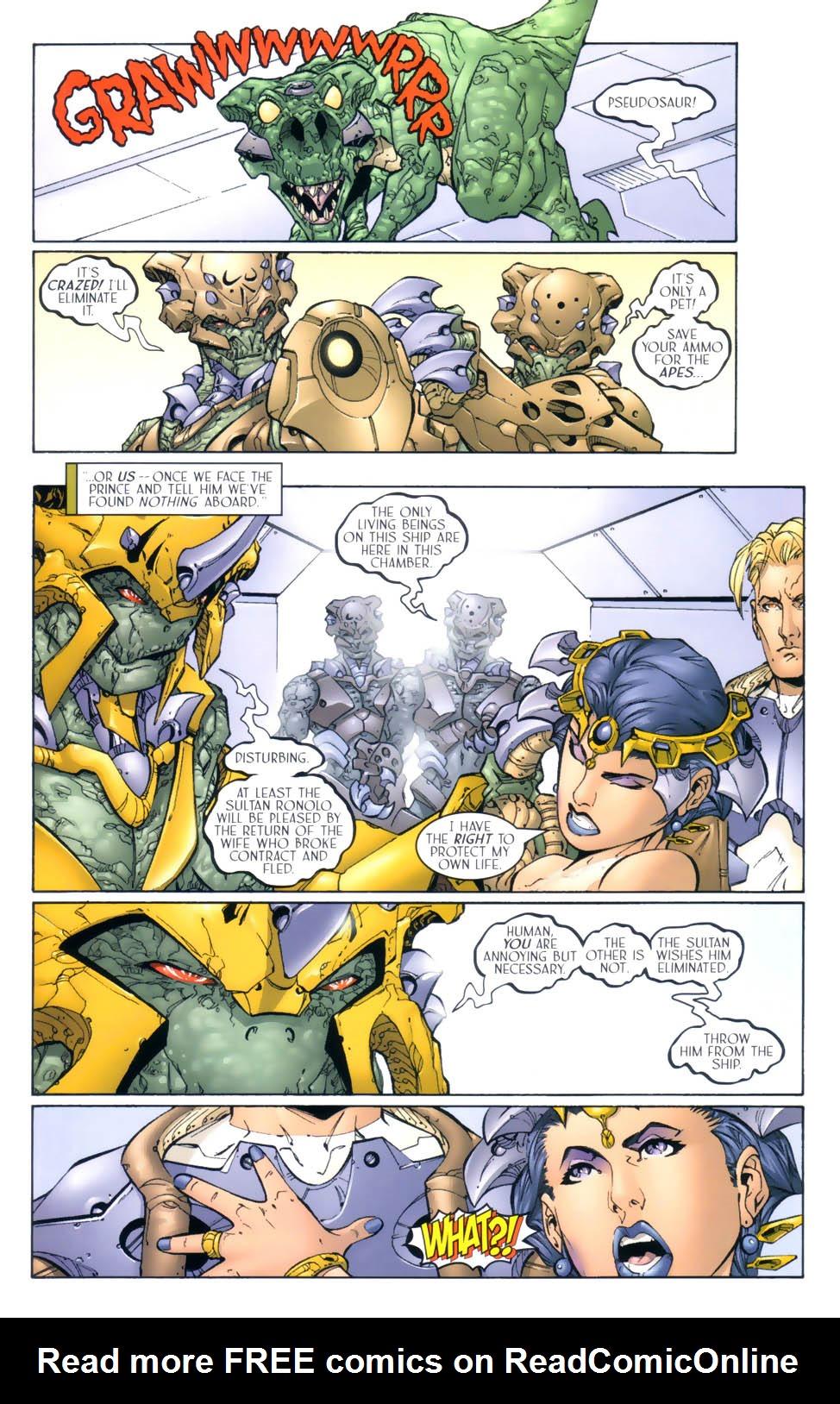 Read online Sigil (2000) comic -  Issue #4 - 19