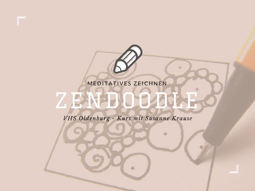 Zendoodle Kurs mit Susanne Krause | VHS Oldenburg