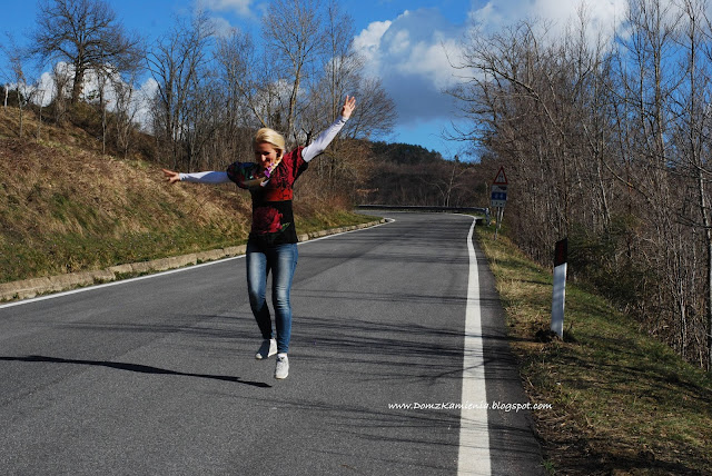 blogerka w Toskanii