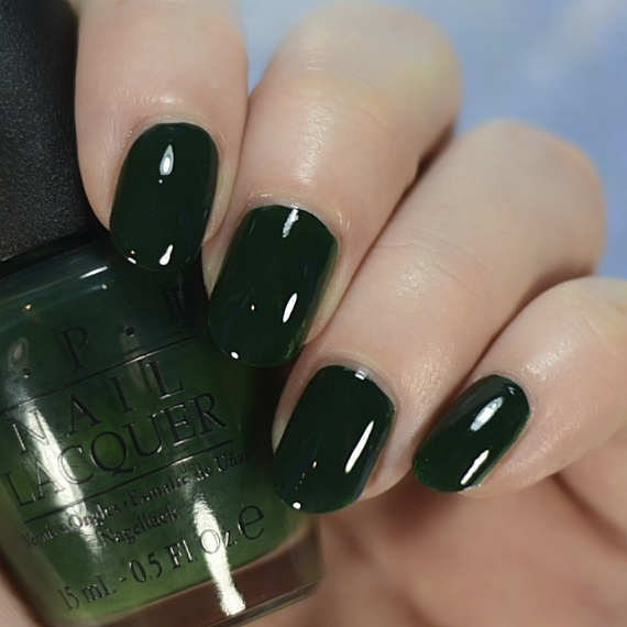 opi christmas gone plaid swatch