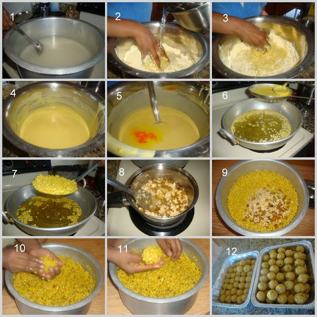 images for Boondhi Ladoo Recipe / Boondi Ladoo Recipe -How to make Boondhi Ladoo.