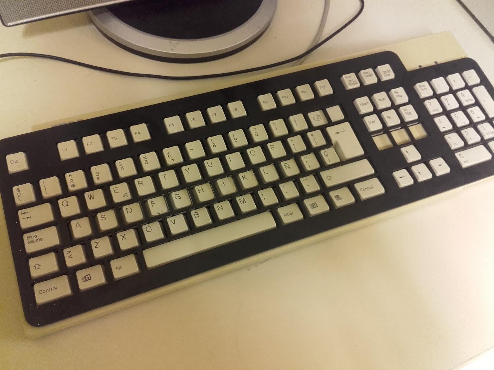 Nuevas tecnologías y cosas de esas: Carcasa para el teclado