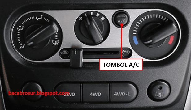 Arti dan Fungsi Tombol AC Mobil Tipe Konvensional - OMBRO
