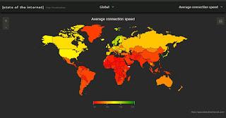 velocità internet paesi