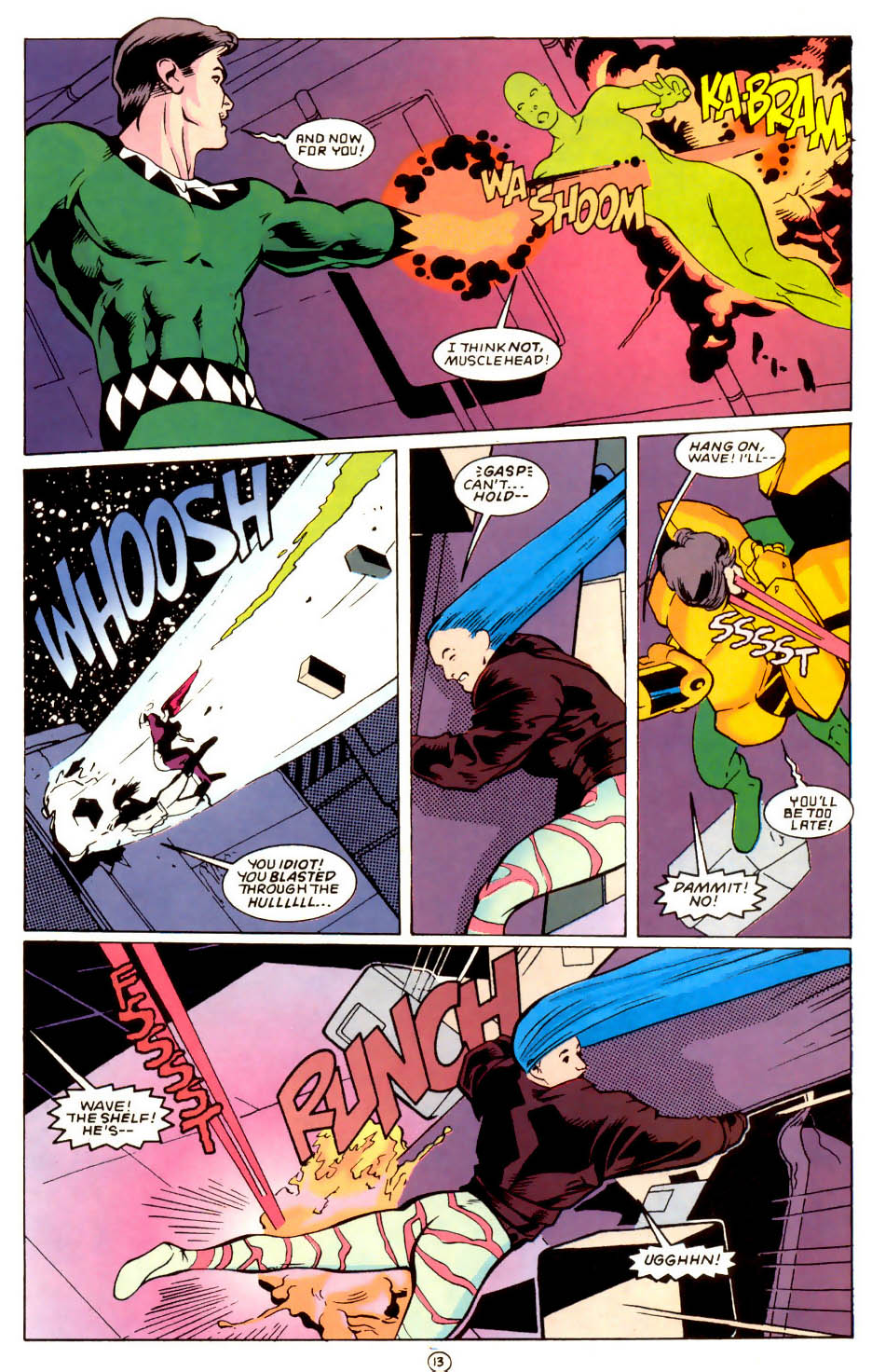 Legion of Super-Heroes (1989) 58 Page 13