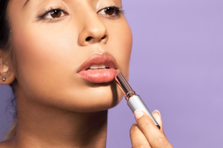 Likewise with the lips. If your lips are small, avoid lip liners, because it can make your face look even greasy.