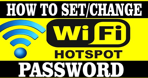 How To Set A Password For Your WiFi Hotspot