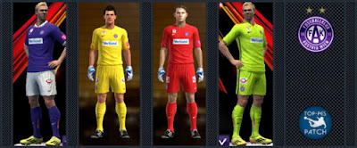 PES 2013 FK Austria Wien kits 15-16 by Radymir