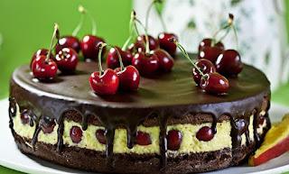 Torta de Cerezas