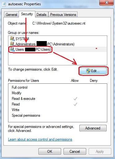 system32 autoexec