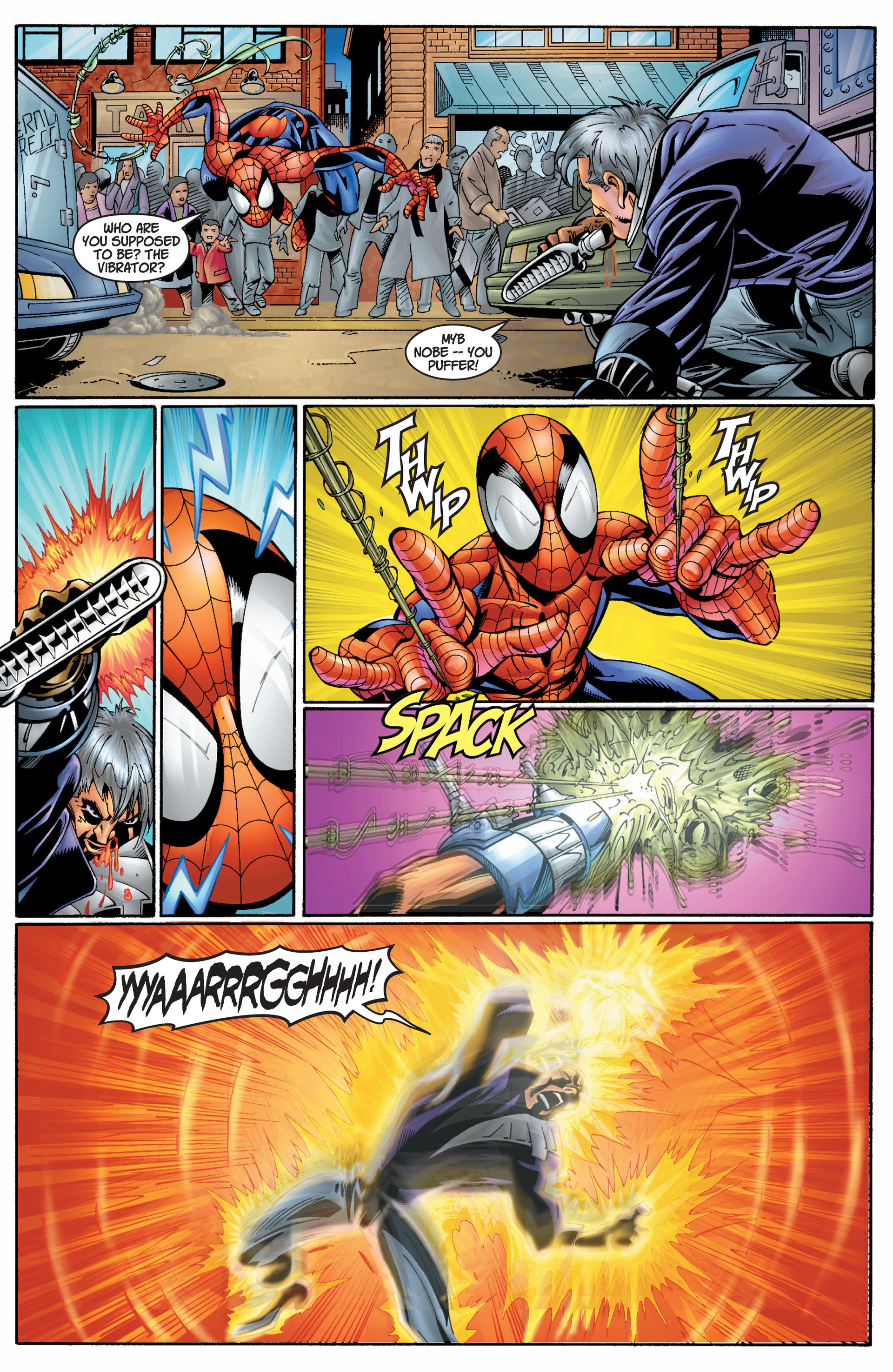 Read online Ultimate Spider-Man (2000) comic -  Issue #8 - 5
