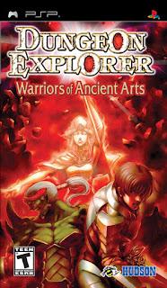 Dungeon Explorer: Warriors of Ancient Arts PSP GAME