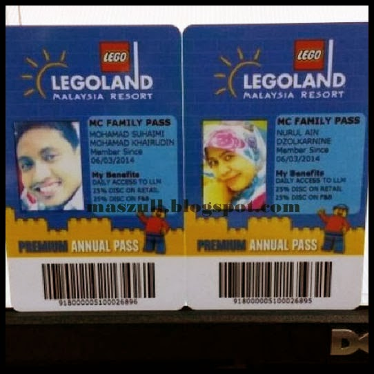 Renew Annual Pass Legoland