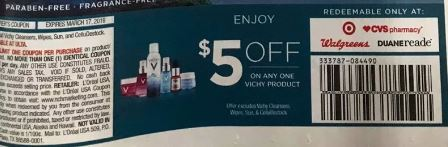 photo about Vichy Coupon Printable known as Absolutely free + $1.05 Funds Manufacturer Vichy Cleaning Wipes at CVS - 2/24