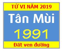 Tử Vi Tuổi Tân Mùi 1991 Năm 2019 Nam Mạng - Nữ Mạng