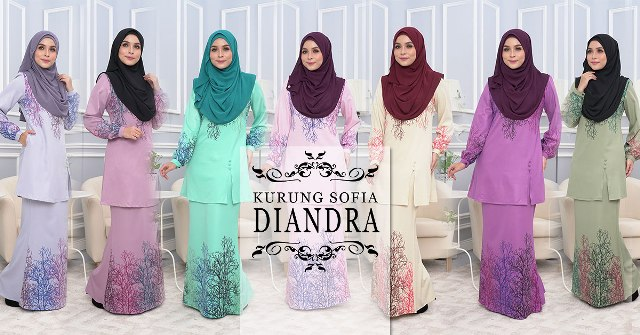 Baju Kurung Bridesmaid  Diandra by SweetMuslimah
