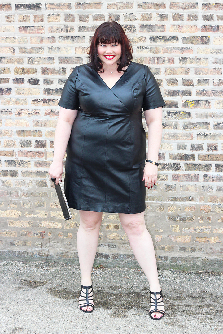 Elegant All Leather Plus Size Dress From Jessica London