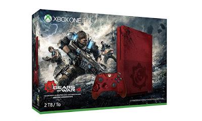 Nuevo modelo de Xbox One S basado en el juego Gears of War 4