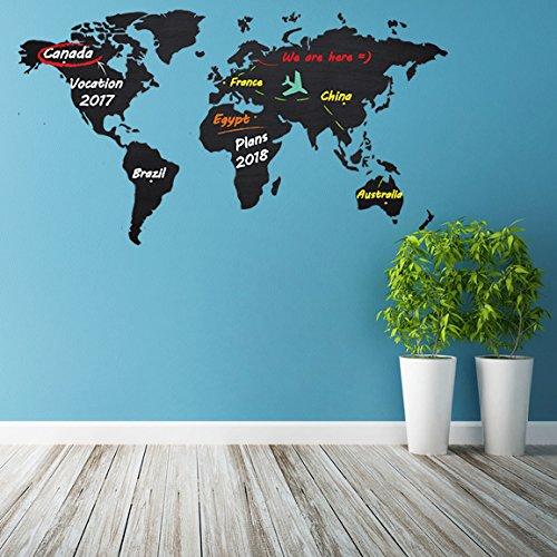 Pequefelicidad mis 10 mapas del mundo de pared favoritos for Vinilo mapa del mundo
