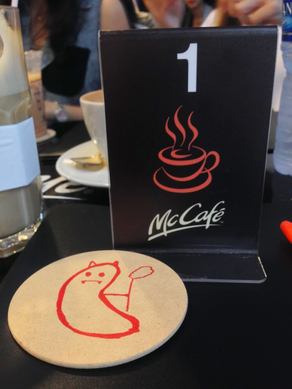 Evilbean with McCafe