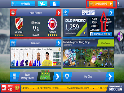Cara Hack Coin Dream League Soccer 2017 || Menggunakan Aplikasi Game Guardian #Root