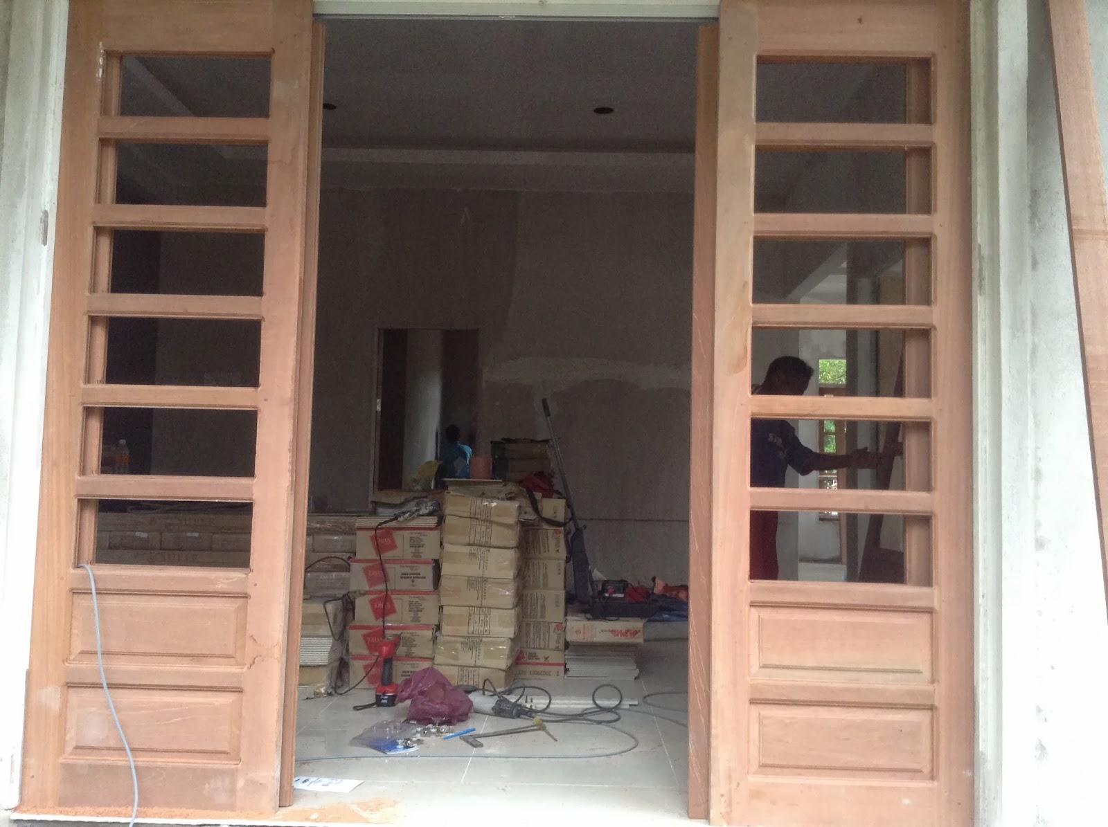 Membina Rumah Impian Kerja Kerja Memasang Tingkap Dan Pintu Kayu