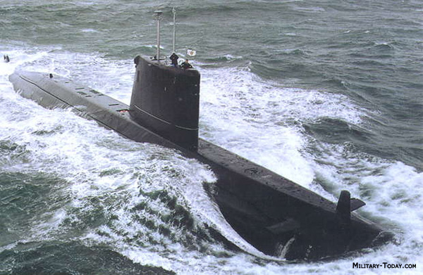 Submarino de patrulla clase Agosta (Francia)