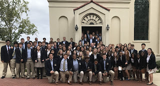 Montgomery Catholic Students Attend 44th Annual Red Mass 2