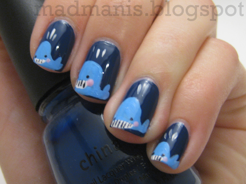 MaD Manis: A Whale of a Nail