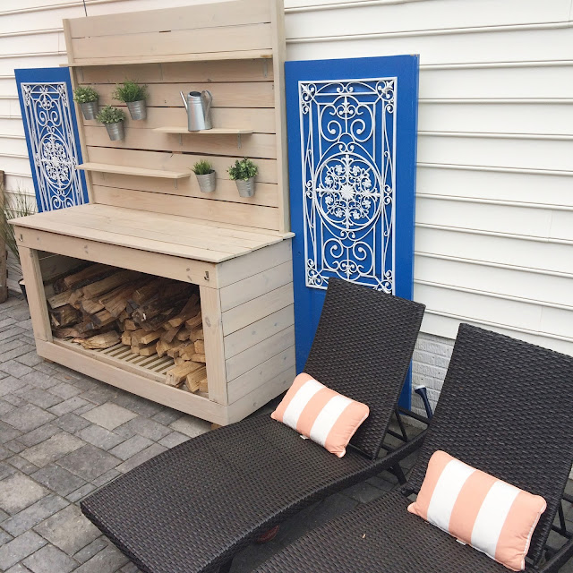 Outdoor Patio Reveal - Creating an inviting space - LeroyLime